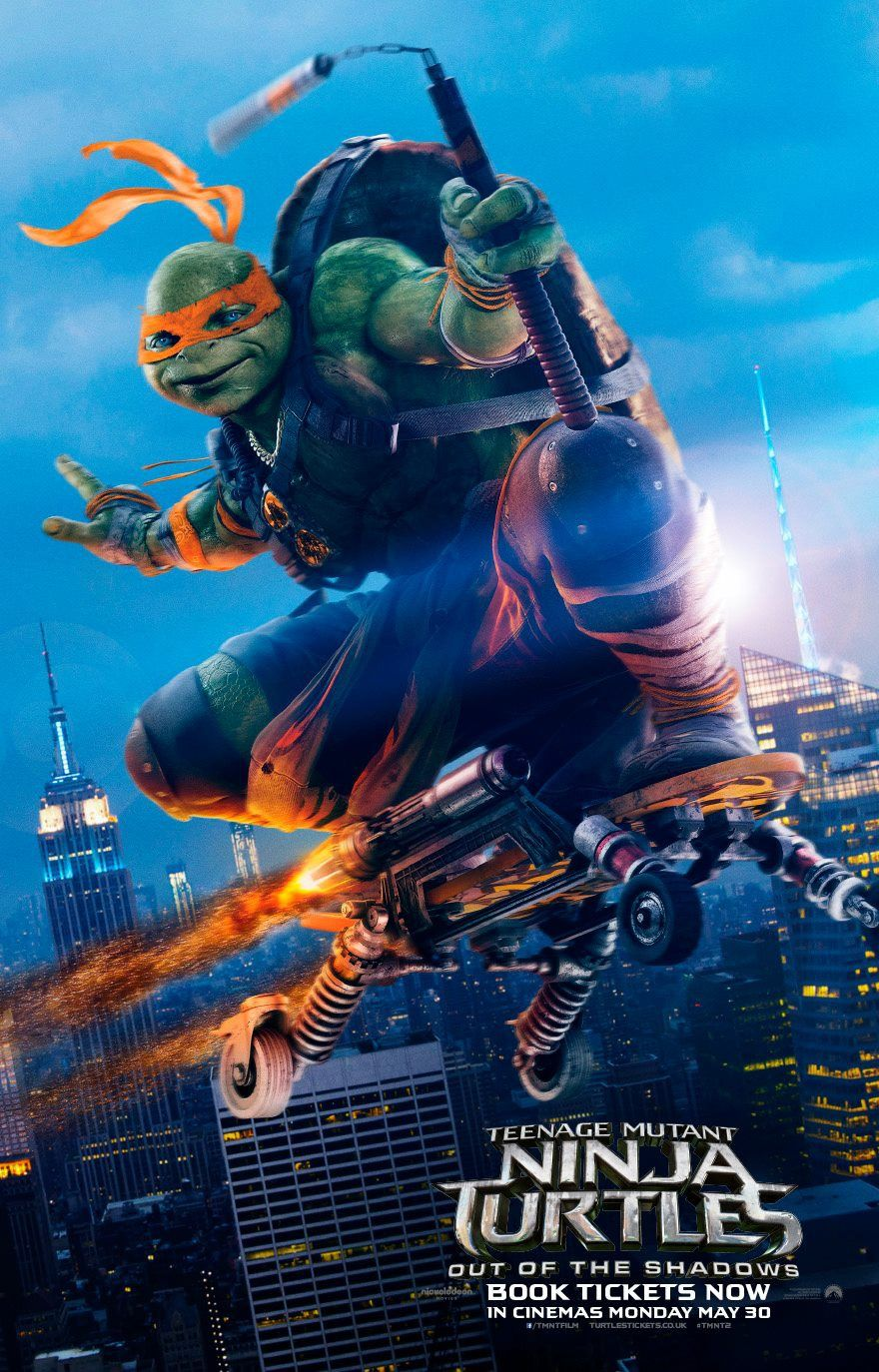 Return To The Main Poster Page For Teenage Mutant Ninja Turtles Out Of The Shadows Teenage Mutant Ninja Turtles Movie Ninja Turtles Ninja Turtles Movie