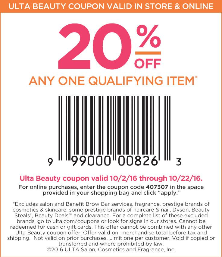 Ulta Store Coupon Beauty Coupons Ulta Coupon Ulta