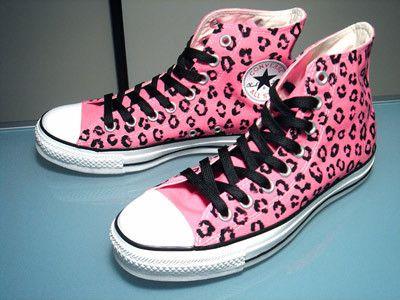 Love these!! | Leopard print converse, Converse, Leopard shoes