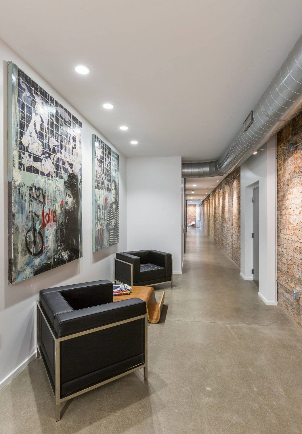 Loft Amenagement Interieur Mcalpin Loft By Ryan Duebber Architect Entrée Et Couloir Entry