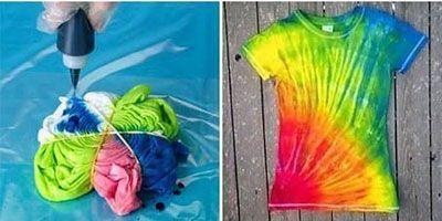 Oživme oblečenie farbami:)