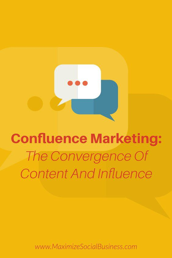 Confluence Marketing  The Convergence Of Content And Influence