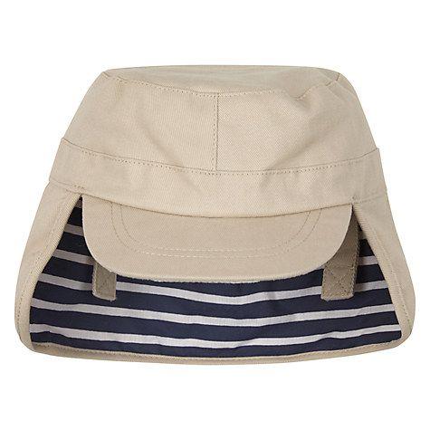 c8485755dad821 Buy John Lewis Baby Keppi Hat, Stone Online at johnlewis.com | Rhys ...