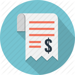 Business Currency Payment Receipt Schedule Shopping Icon Business Icon Shop Icon Icon