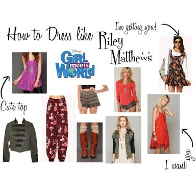how to dress like riley matthews rowan blanchard this