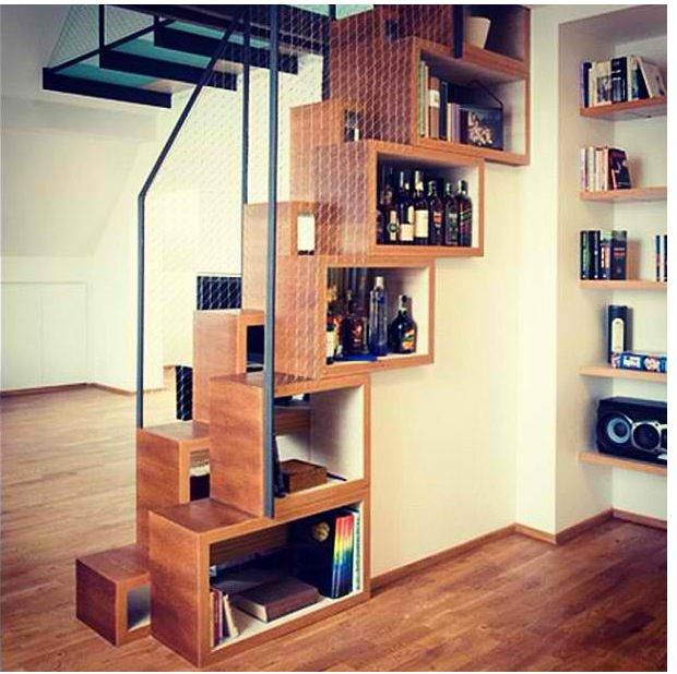 Woodworking Plans For Kitchen Spice Rack: Loft Stairs, Compact Stairs