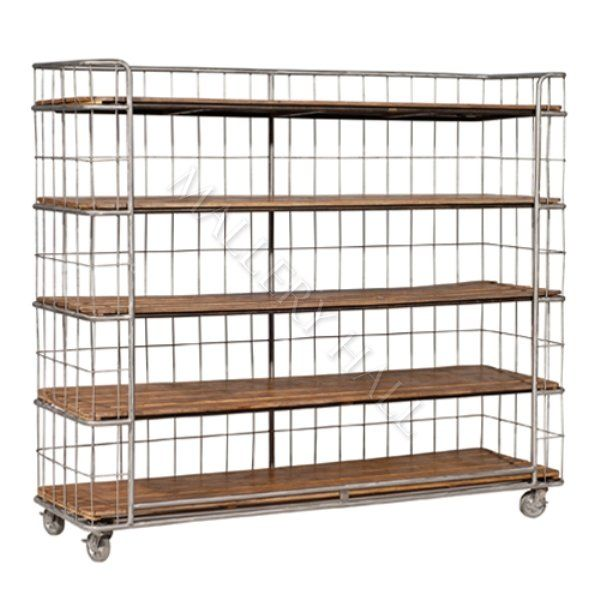 Reclaimed Bakers Rack Shelving And Yes