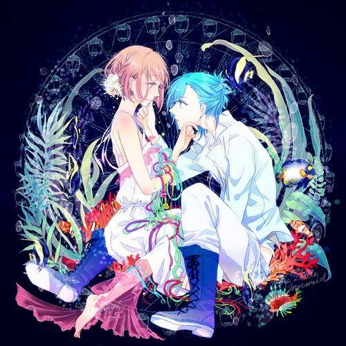 Uta no Prince Sama Ai and Haruka Uta no prince sama
