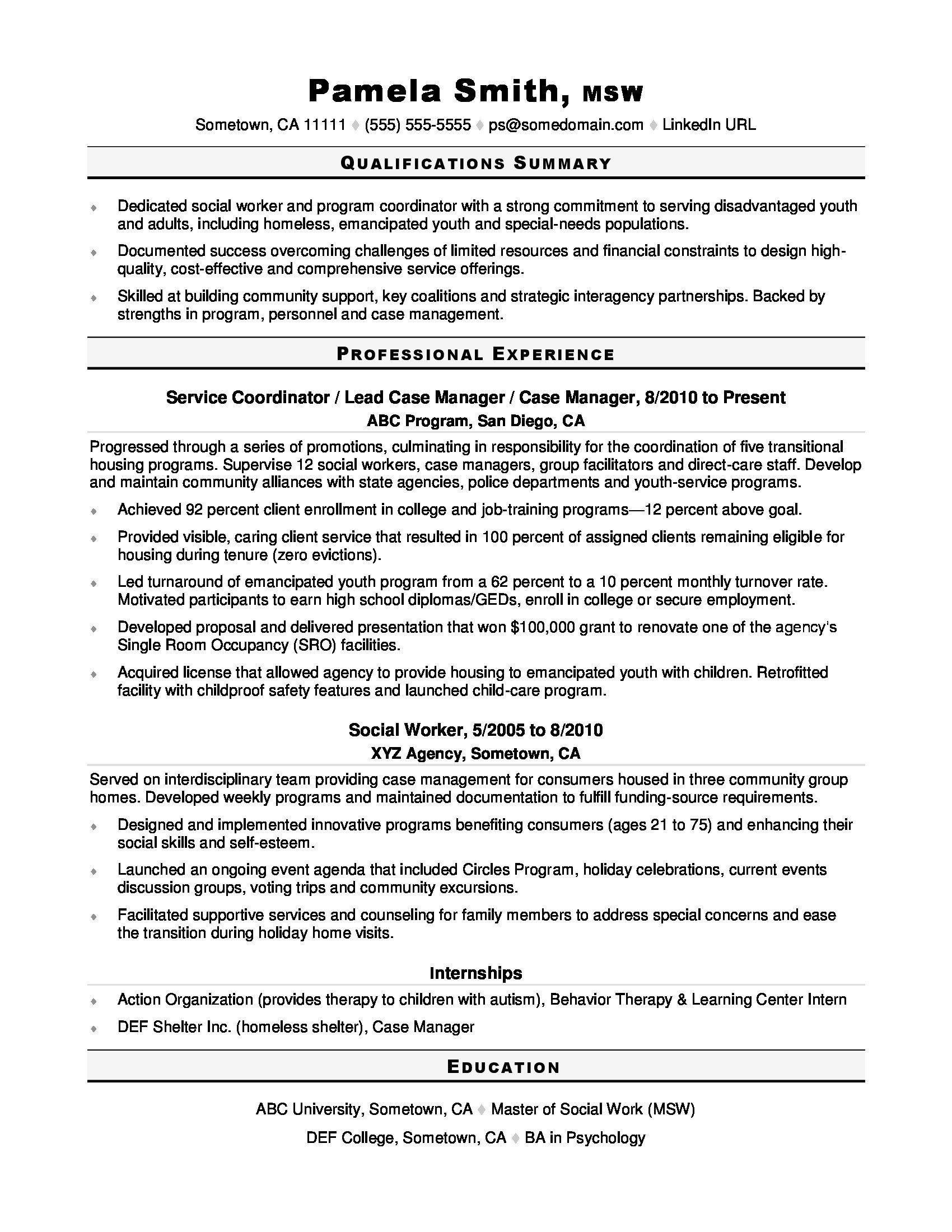 Resume Objectives for Internships Fresh Awesome Job