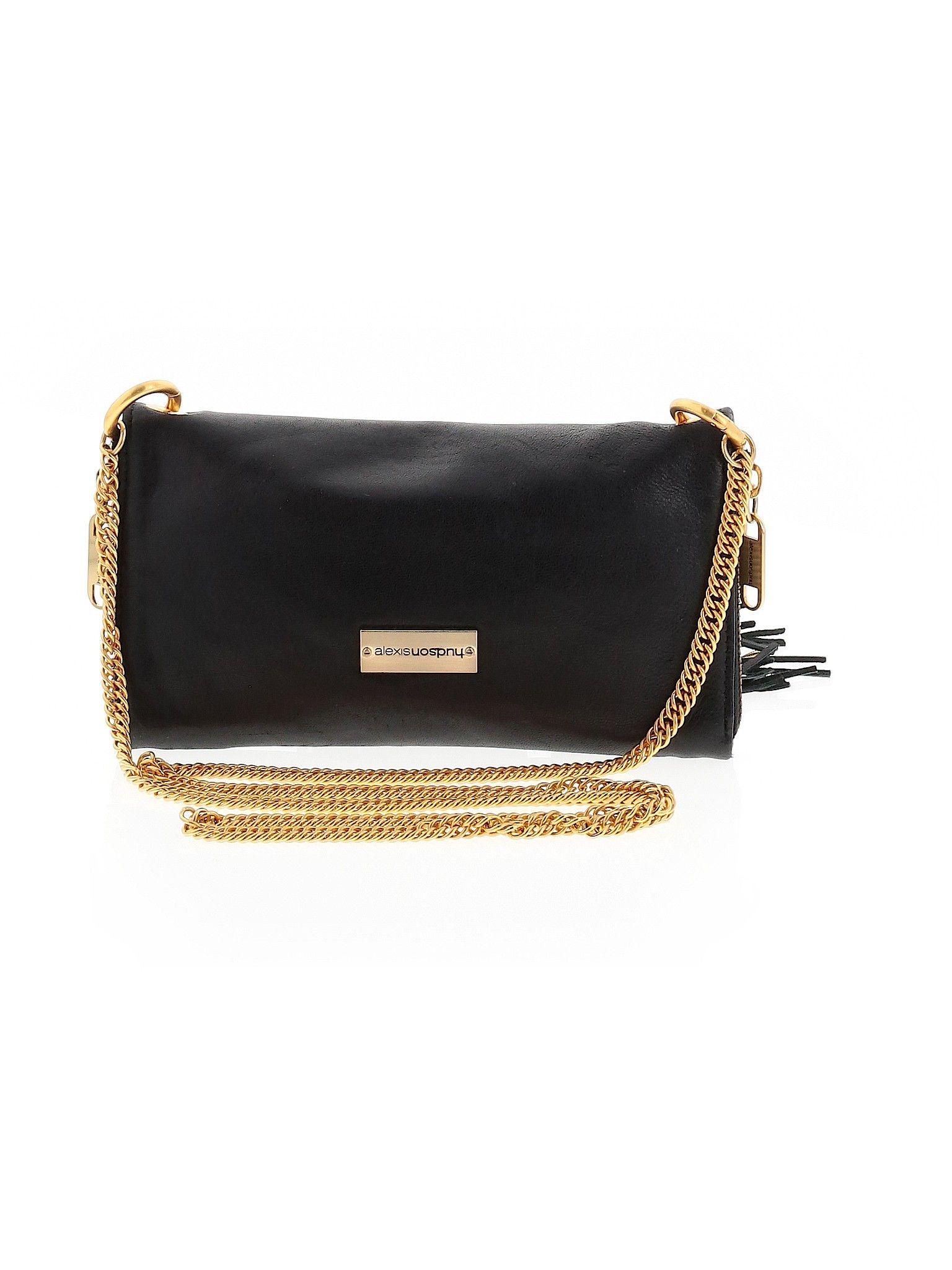 Alexis Hudson Leather Crossbody Bag