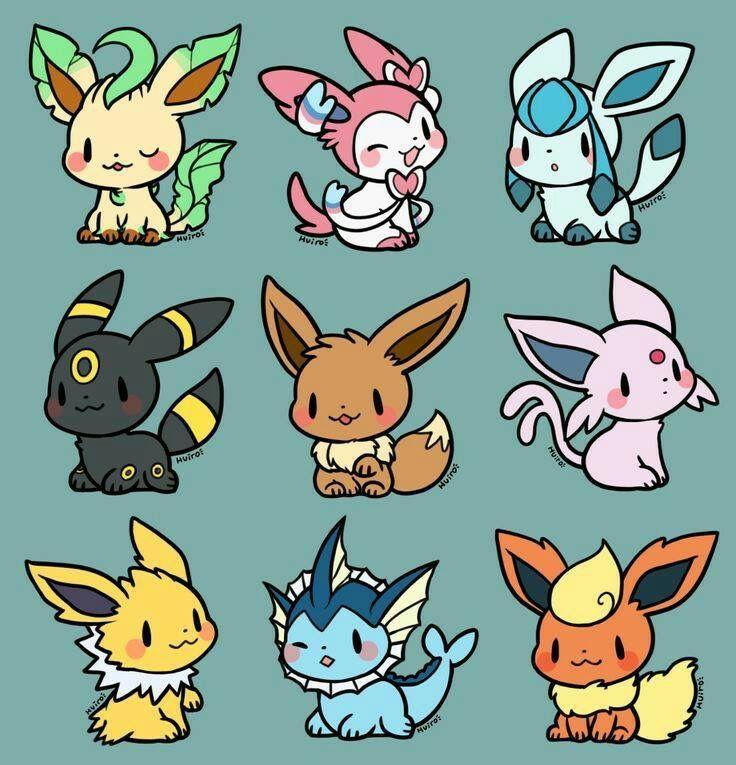 Pokemon Cute Pokemon Wallpaper Pokemon Eevee Evolutions Cute Pokemon Pictures