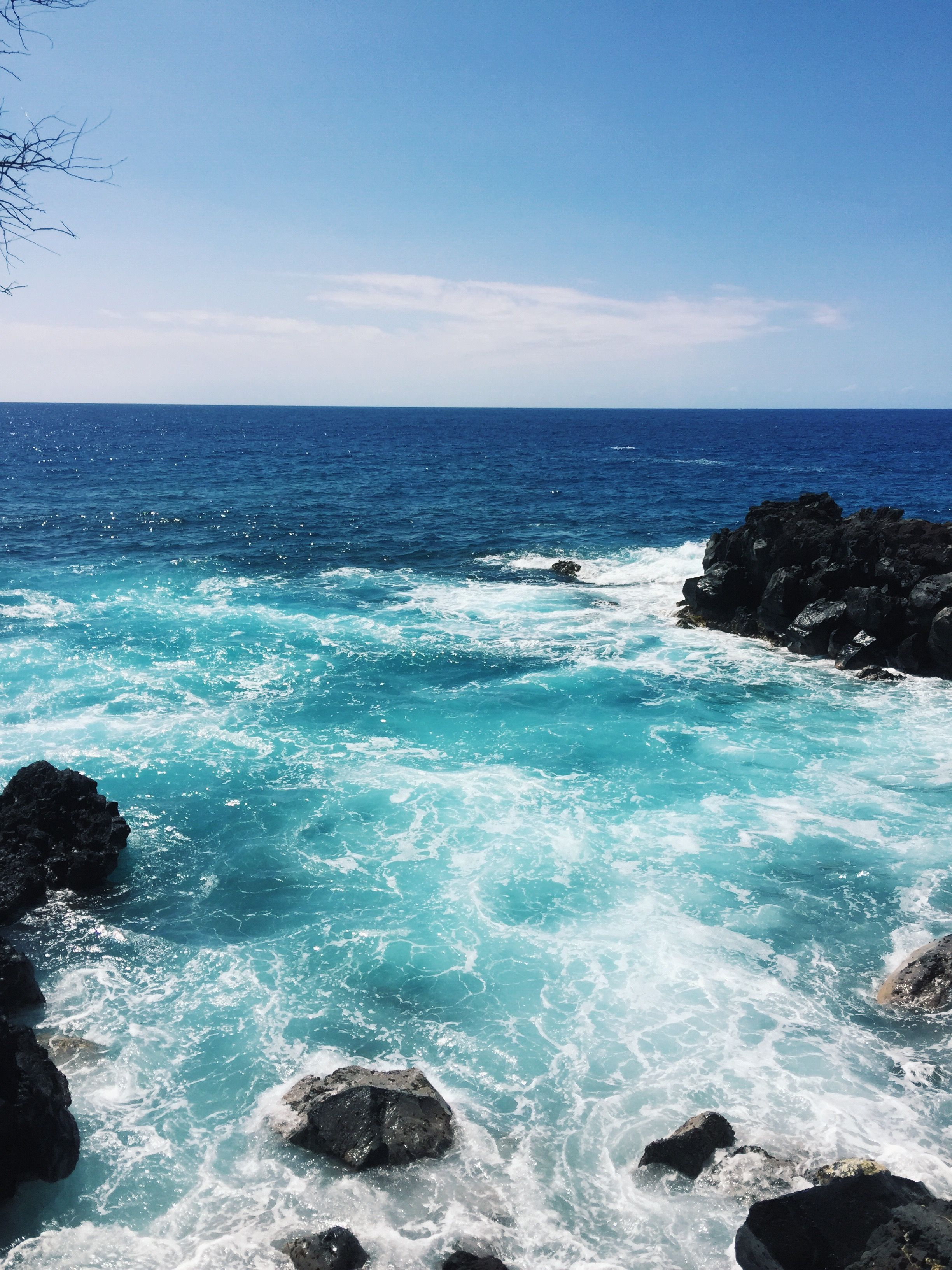Endless Blue Ocean Nature Island Hawaii Kona Big Island Paradise Wanderlust Travel Inspire Art Photogr Nature Inspiration Ocean Scenery