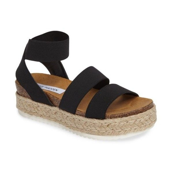 89306c45fee Women s Steve Madden Kimmie Flatform Sandal ( 70) ❤ liked on Polyvore  featuring shoes