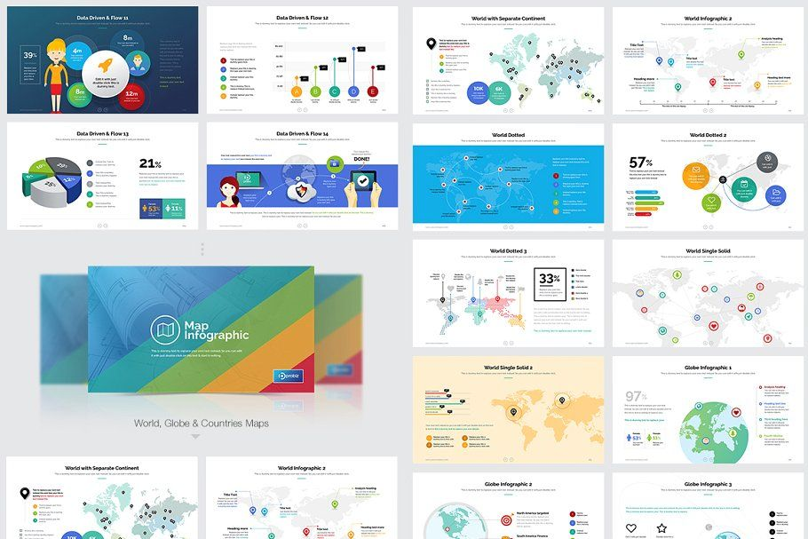 Business Presentation Mega Bundle (с изображениями)