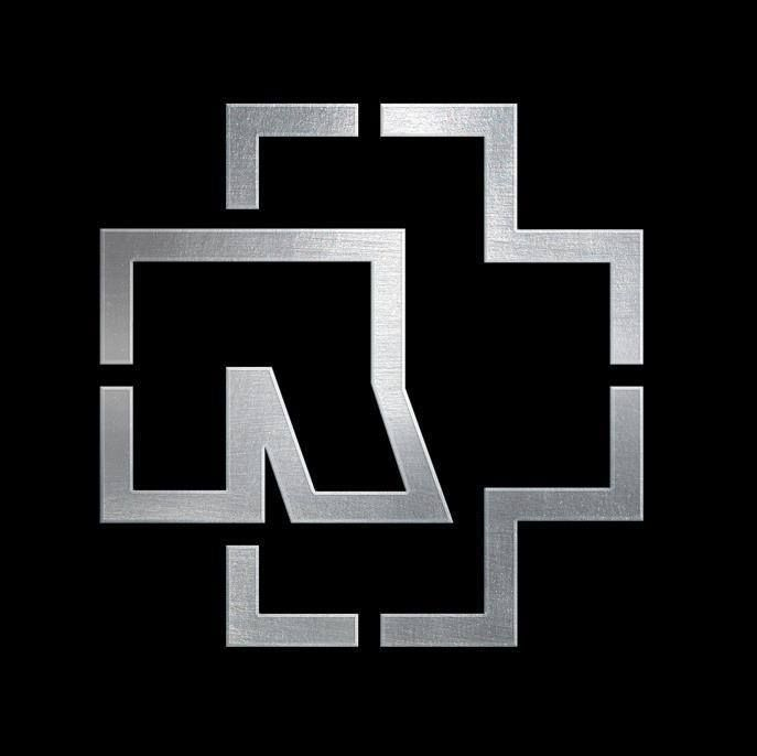 This is the logo for German metal band Rammstein. The logo ...