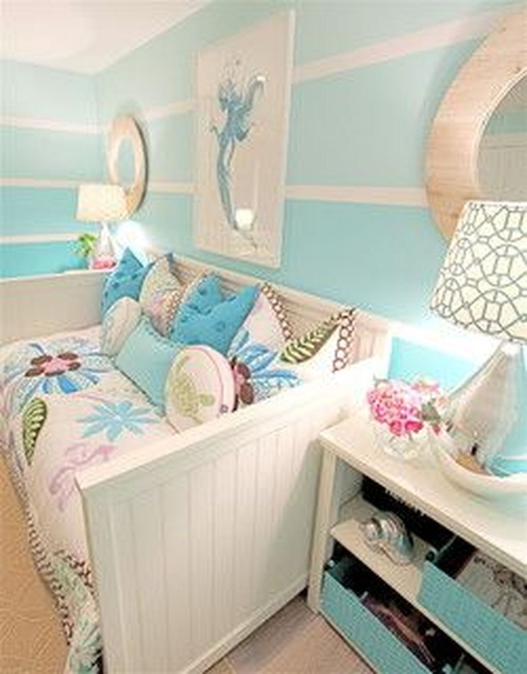 cute and beautiful mermaid themes bedroom ideas for your