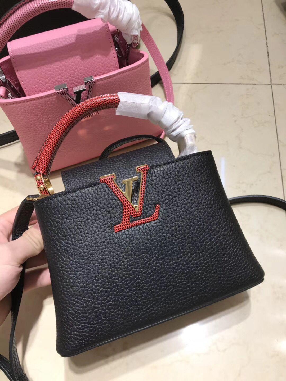 42b808e84 Louis Vuitton lv mini capucines bag original leather version | LV in ...