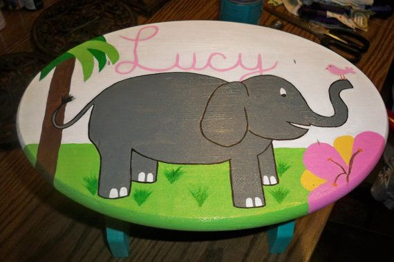 "Step Stool Custom Painted for Child or Toddler by dawneedooville, $29.99 + Ship, BUT Get 15% Off your TOTAL PURCHASE with Cpn Code ""BLKFRI12"" at CHeckout!  Ends TONIGHT at MIDNIGHT!! And want something Custom and you don't see it here?  JUST ASK!  I love a Challenge!!!  www.dawneedooville.etsy.com"