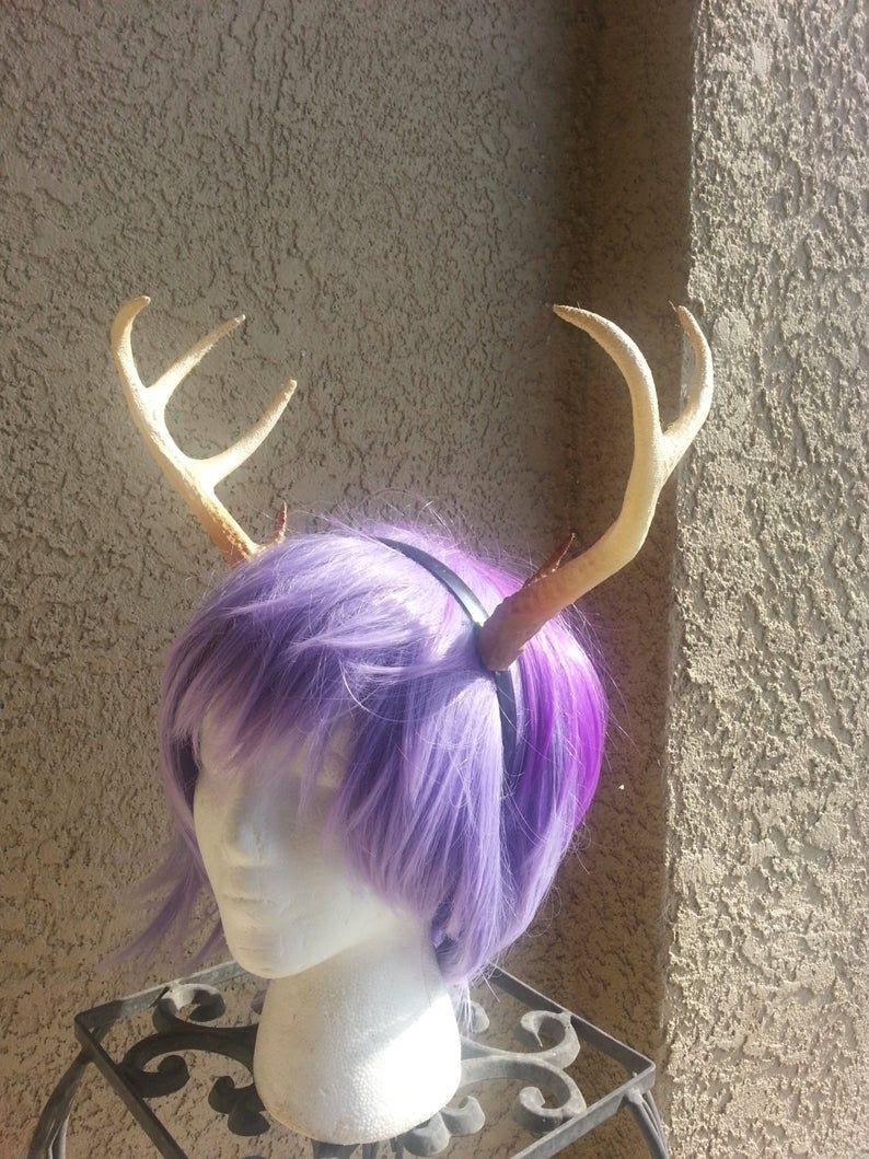 NEW ARRIVAL! 8 inch Realistic Christmas Doe / Deer Antlers