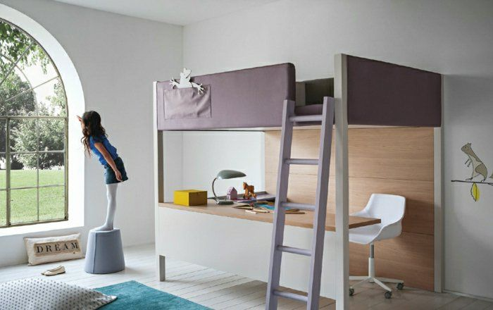 Le lit mezzanine ou le lit supersposé quelle variante choisir
