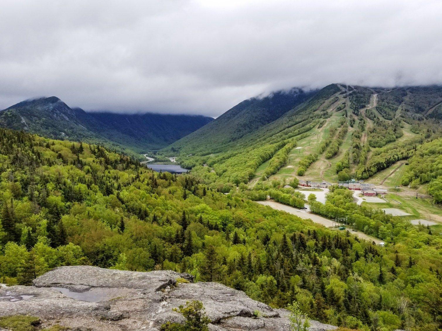 Bald Mountain, Artist's Bluff Hike White mountains, New
