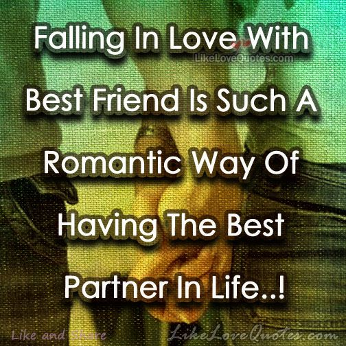 Falling In Love With Best Friend