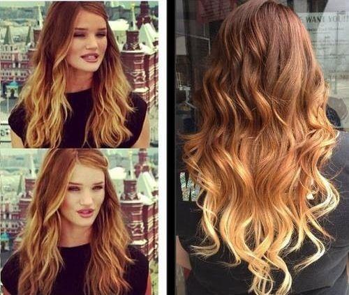 Tie and die Blonde ombre hair, Degrade blond et Produits
