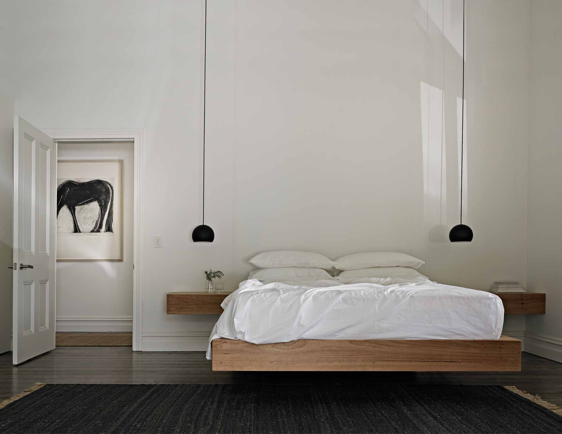 minimal bedroom hazeldean into white pin with doorway studio japanese view tranquil bed style