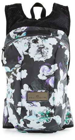 adidas by Stella McCartney Blossom-Print Running Backpack
