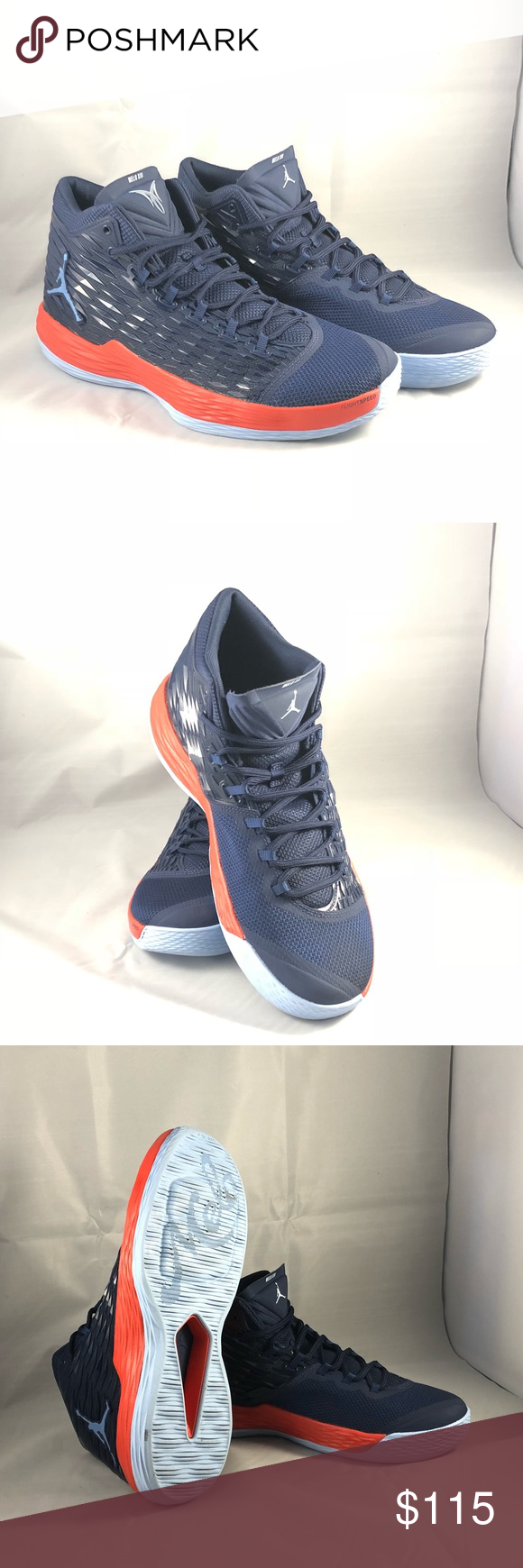 615d09884b66 Nike Air Jordan Melo M13 SZ 11 Midnight Navy New without box. Shoe number  881562  406 Nike Air Jordan Melo M13 Carmelo Anthony Nike Shoes Sneakers