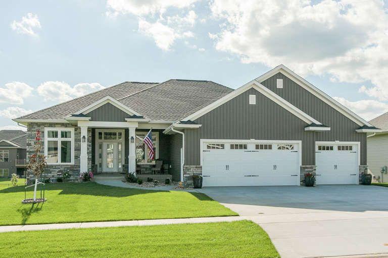 House Plan 1020 00343 Craftsman Plan 3 235 Square Feet