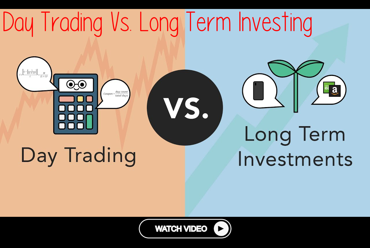 Day Trading Vs Long Term Investing Phil Townon One Hand Day