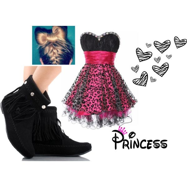 princess swagg, created by shyme022 on Polyvore