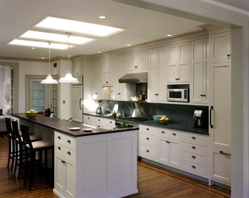 Amazing Open Galley Kitchen Design Elegant Open Galley