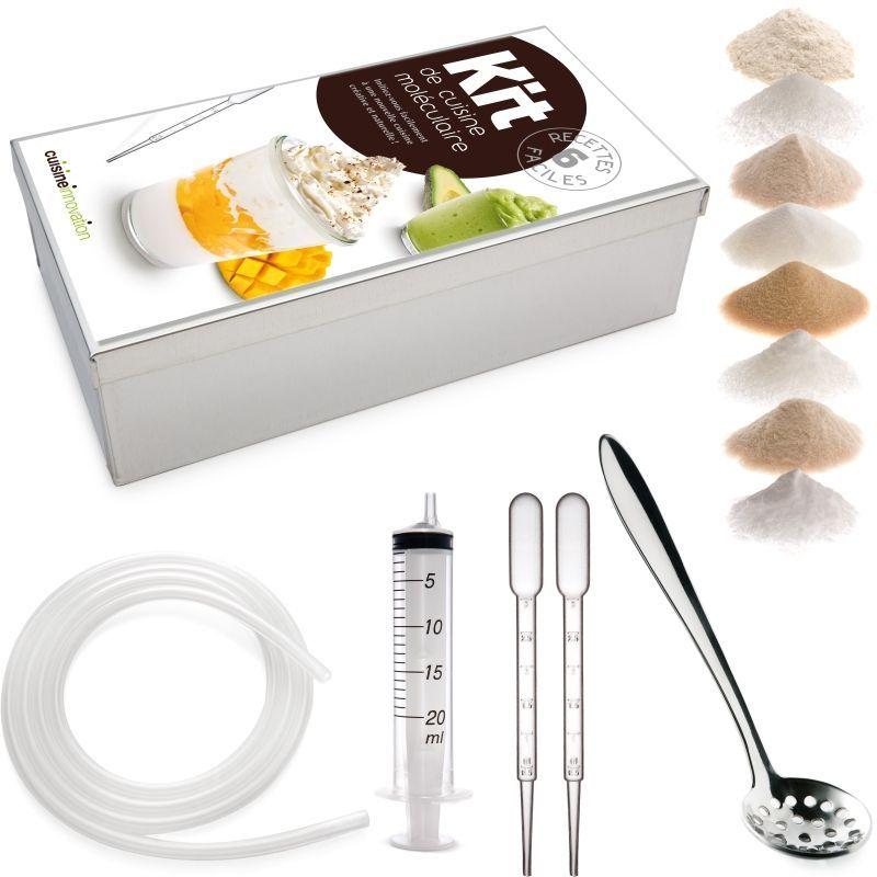 Kit de cocina molecular utensilios revista de cocina - Kit cucina molecolare ...