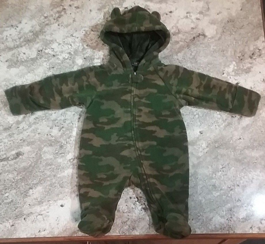 First Impressions Infant Boys Long Sleeve Terry Hooded Cover UP Swimwear 18M