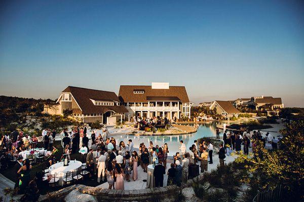 Florida Wedding Venue WaterSound Beach Near Panama City