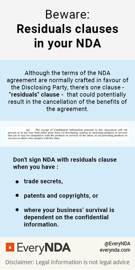 There Are A Number Of Reasons Why You Shouldnt Sign An Nda With A