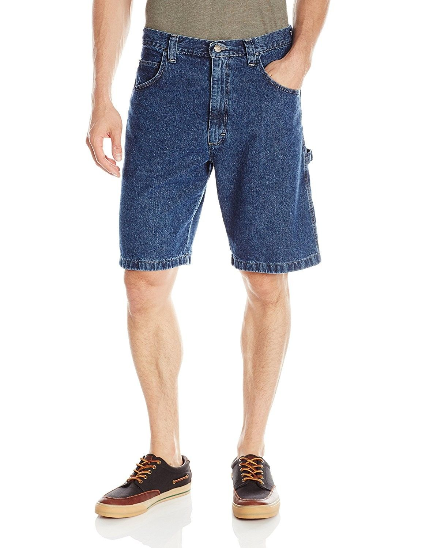Wrangler Mens Premium Denim Carpenter Shorts
