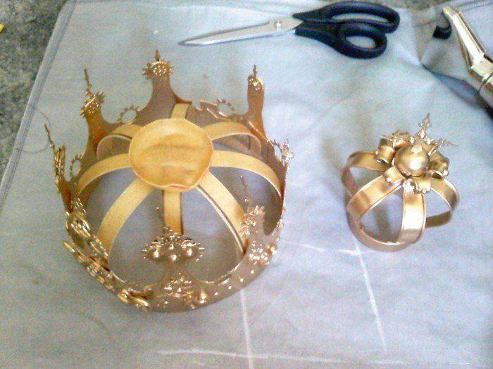 Super Krone basteln - hier finden Sie 40 Ideen für die kleinen Adligen BK79