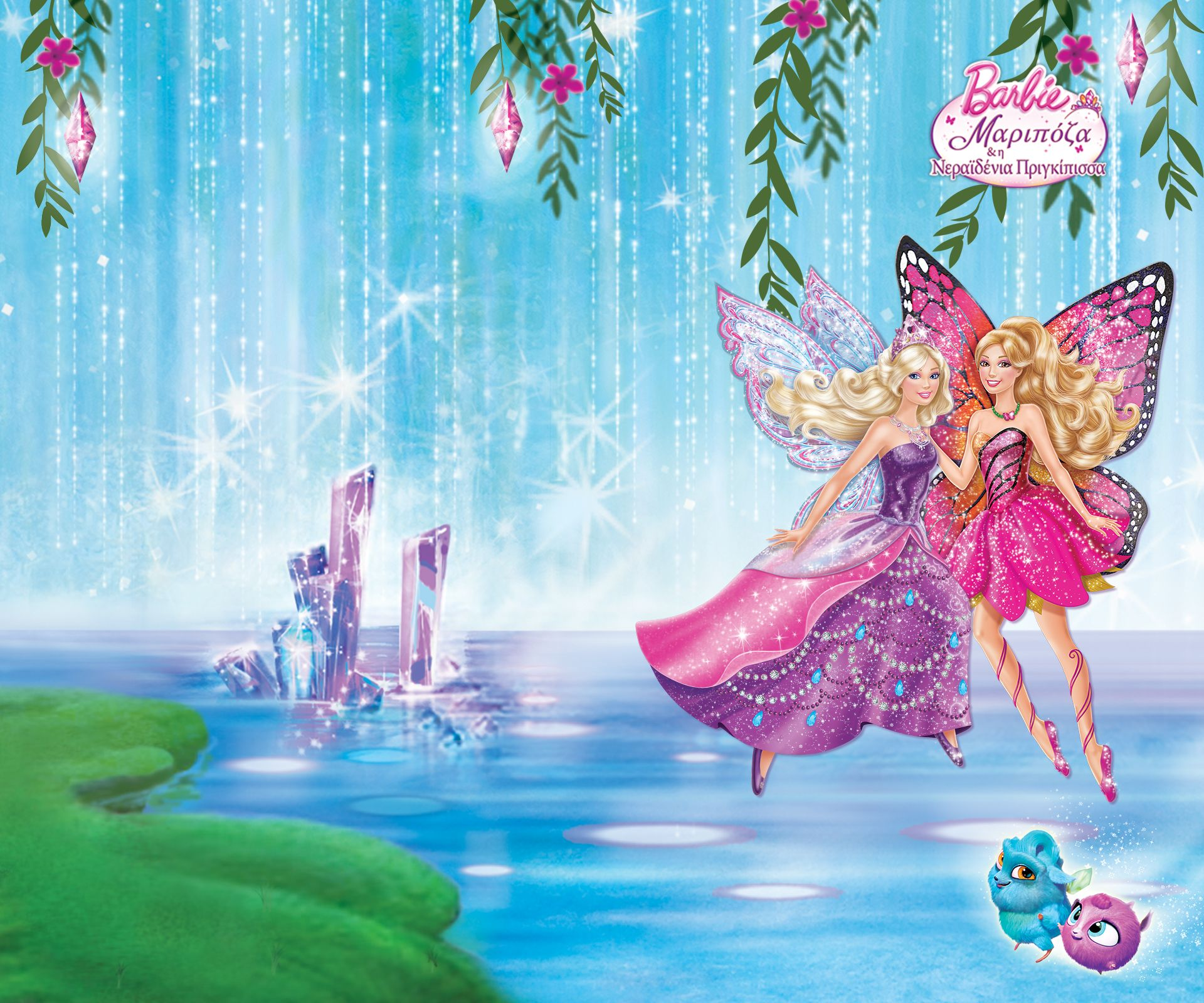 barbie mariposa and the fairy princess wallpaper barbie