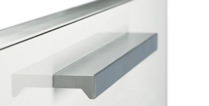 Cocinas tirador de aluminio para los muebles de cocina - Tiradores para muebles de cocina ...