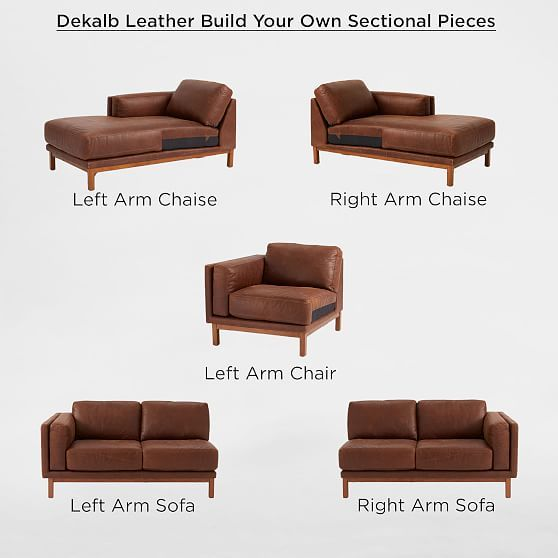 build your own dekalb sectional pieces in 2019 products rh pinterest com