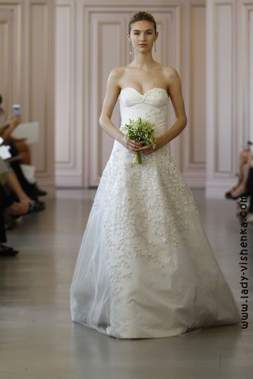 6. Weiße brautkleider Oscar De La Renta | Brautkleider | Pinterest