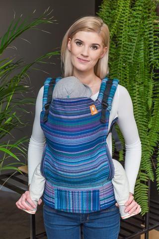 Girasol Myth Azul Holandes Weft Herringbone Weave TULA BABY CARRIER