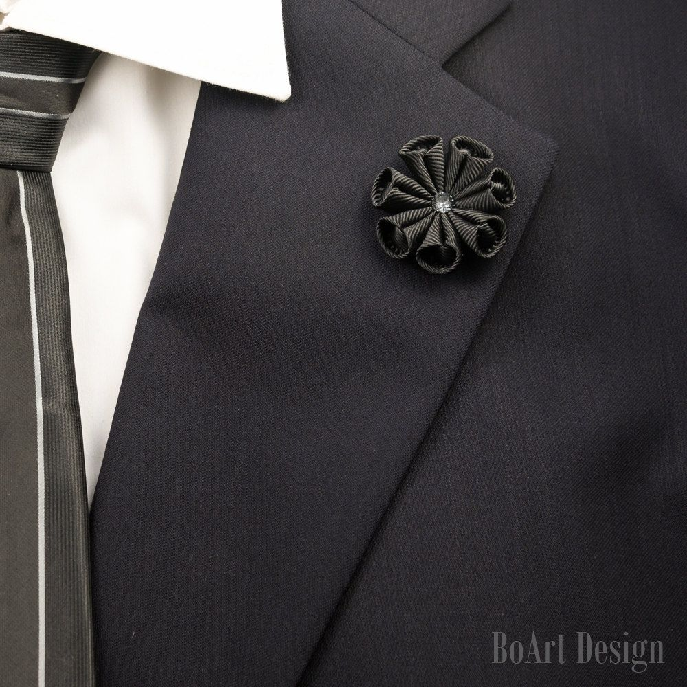 blue a brooch with vest isolated close suit on plastron prom photo mens men or shirt for navy tie wedding up
