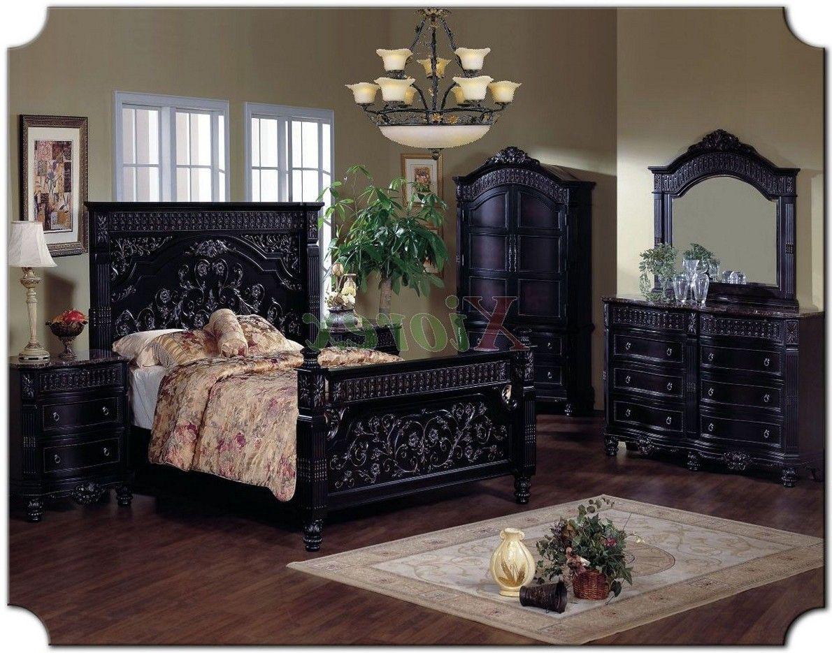 Gothic-Bedroom-Furniture-Sets.jpg (1190×935) | Dream house ...