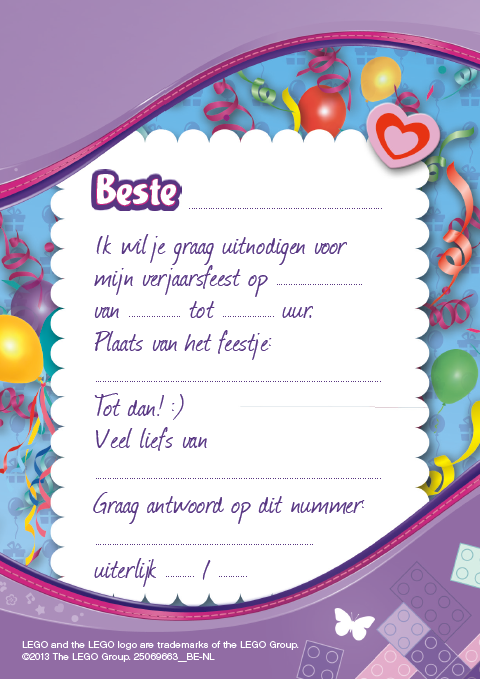 Get How To Fill Out A Birthday Party Invitations Download This Invitation For FREE At