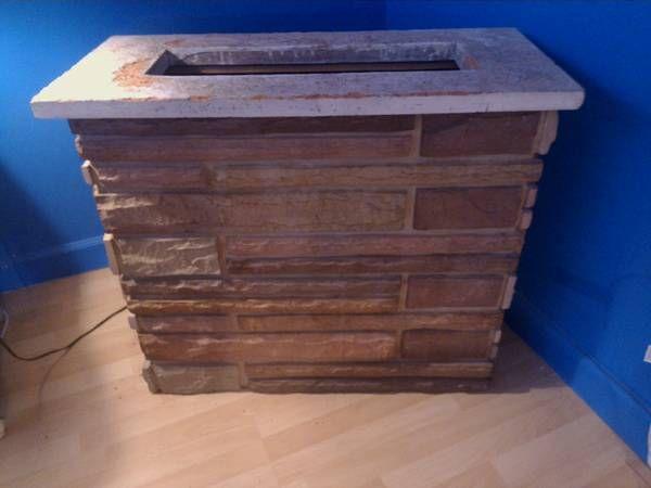Brick Amp Stone Fish Tank Table Or Tv Stand Furniture I