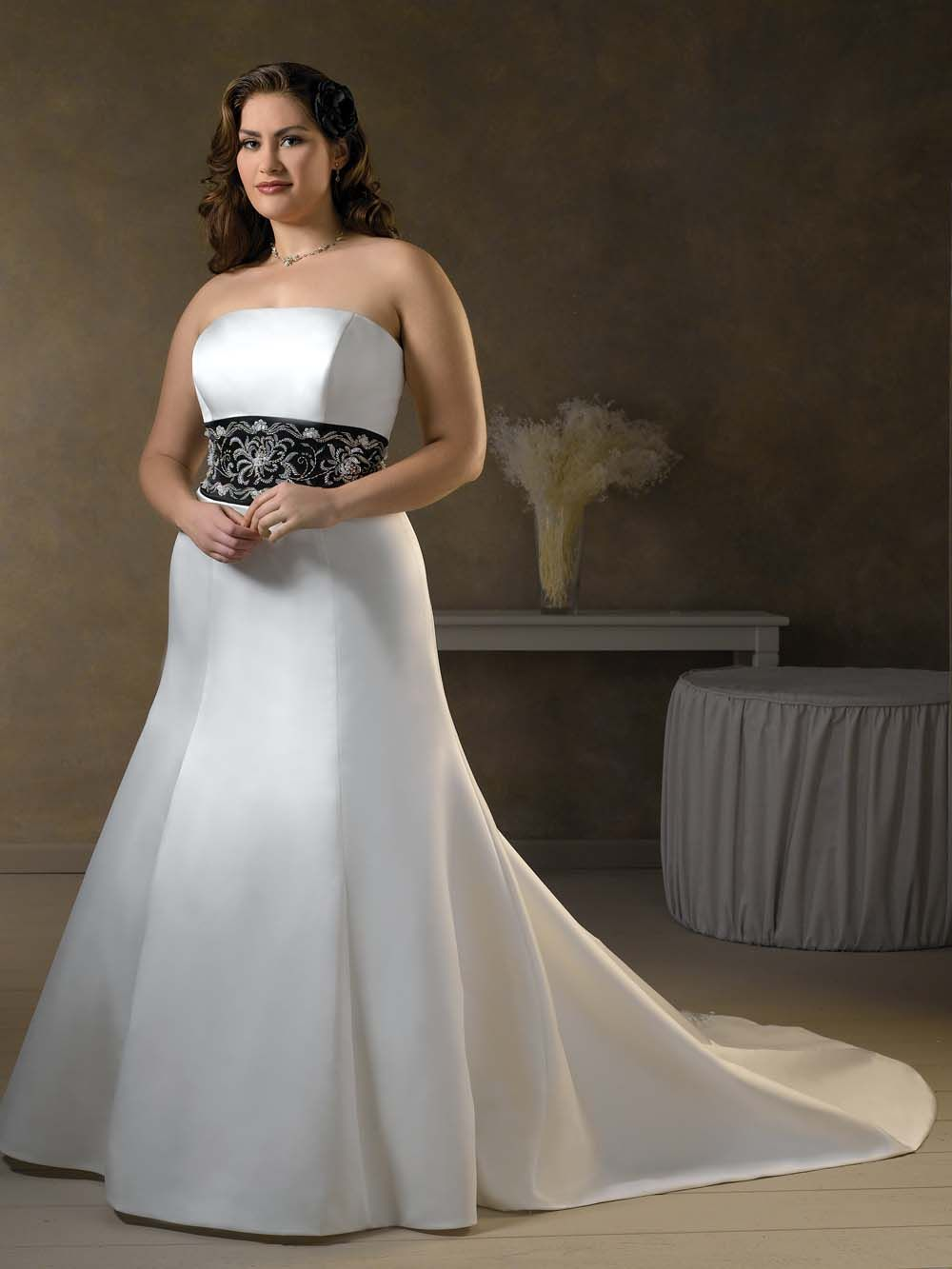 wedding dresses for second time brides plus size | best-plus-size ...